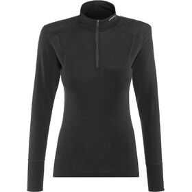 Devold Hiking Longsleeve Nek Shirt halve rits Dames, black